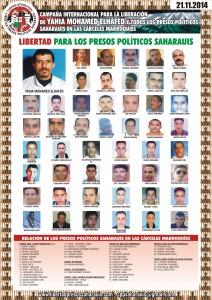 Cartel presos 21-11-2014 ESP