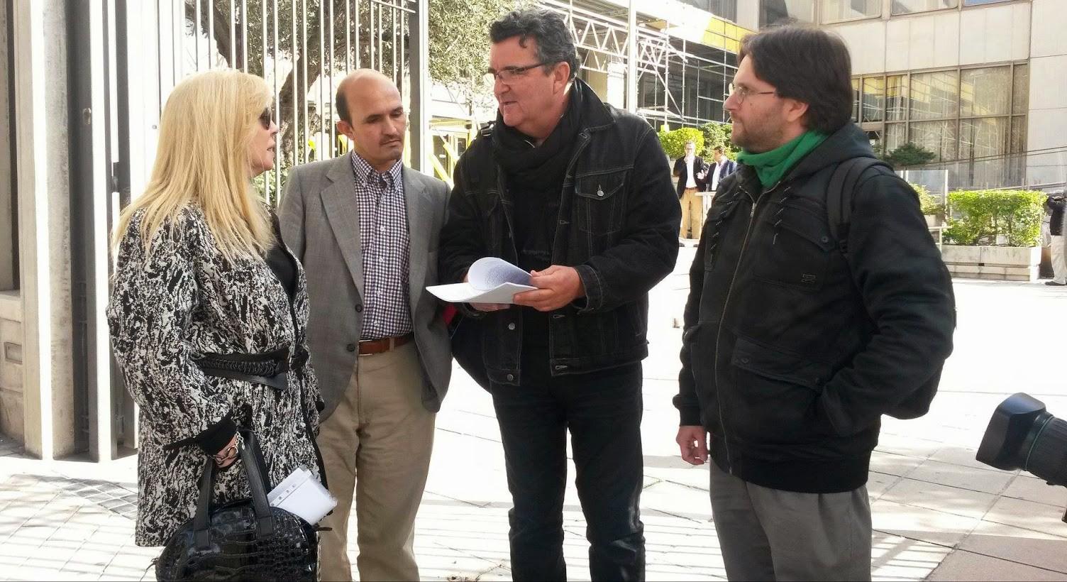 Denuncia en Madrid 2