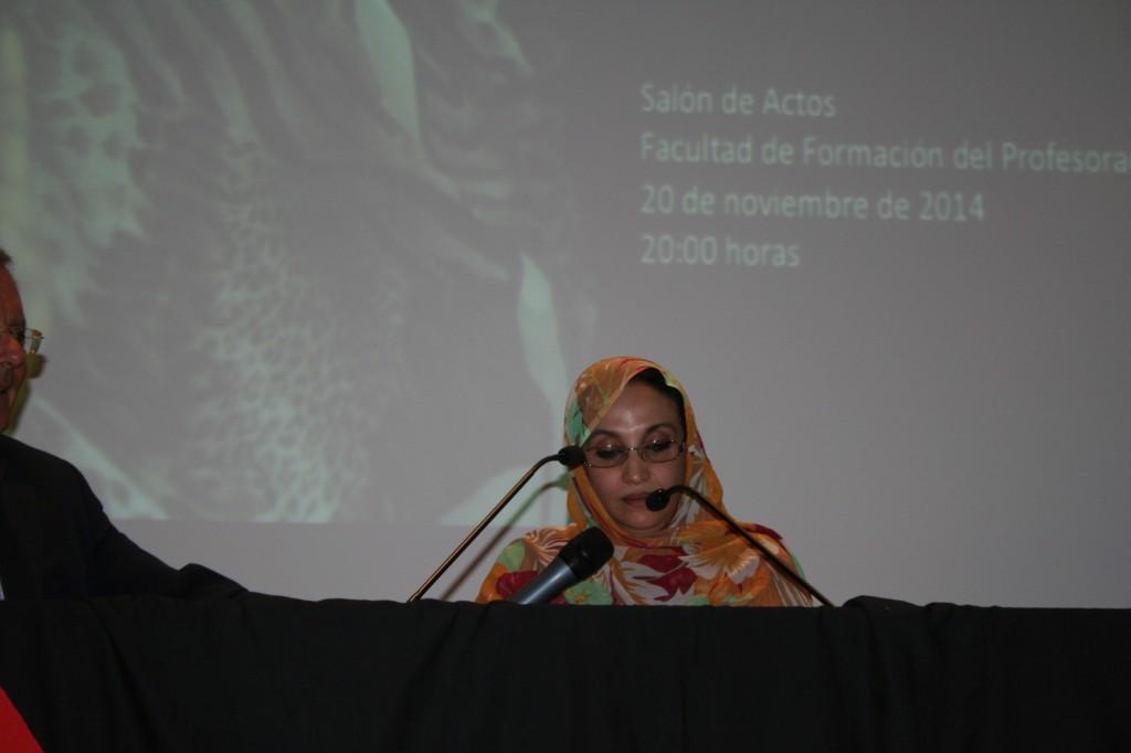 eucoco +manifest +Aminetu Haidar LPGC 14-15-16-20-11-2014 madrid 1056