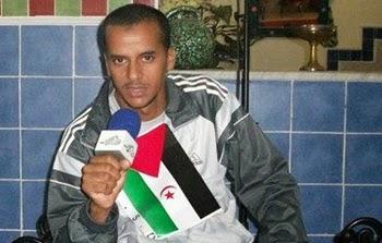 Mohamed Lamine Haddi, preso político saharaui del Grupo Gdeim Izik