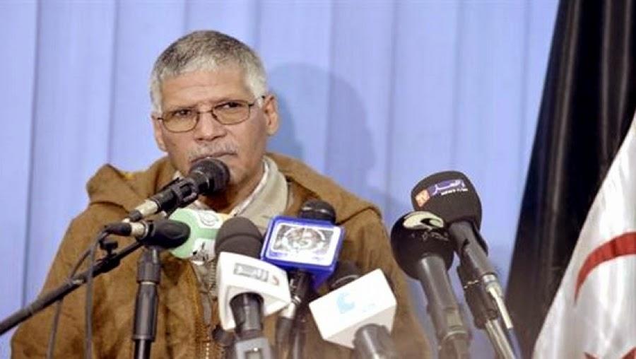 Primer ministro del gobierno Saharaui Abdelkader Taleb Omar