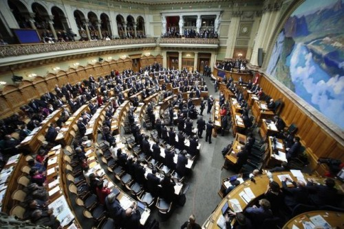 SWITZERLAND-POLITICS-GOVERNMENT
