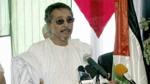 Jatri Adduh, presidente del Parlamento Saharaui y responsable de la delegación de negociadores saharauis con Marruecos