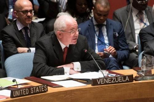 Rafael Ramírez, Embajador de la República Bolivariana de Venezuela en las Naciones Unidas (Foto MPPRE)