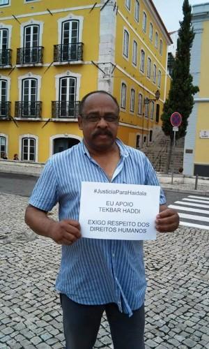 Victor Guerra Turim, Coordinador Nacional de Cubanos Residentes en Portugal y representante de la Casa del Caribe en Portugal