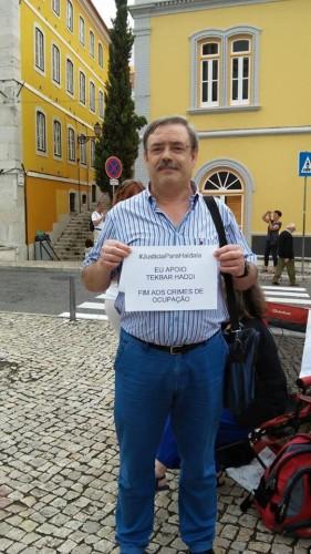 Americo Monteiro, dirigente de la Comisión Ejecutiva de la CGT Portugal