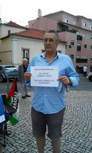 Carlos Santos, militante del Partido Comunista de Portugal