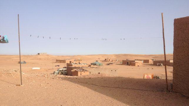 Imagen de '27 de febrero', una de las wilayas de los campamentos de refugiados y refugiadas de Tindouf - Andrea Momoitio