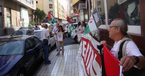 PROTESTA DEL FRENTE ANTE EL CONSULADO EN LAS PALMAS / FOTOGRAFÍA BAJO LICENCIA DE CREATIVE COMMONS