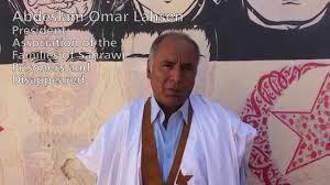 Abdeslam Omar Lahsen, presidente de AFAPREDESA