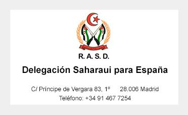 delegacion saharaui en españa