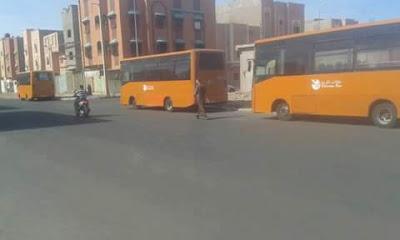 Foto Defensores de DDHH Saharaui desde El Aaiun