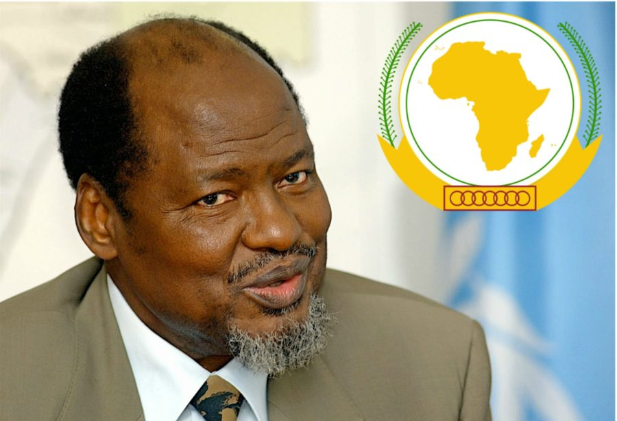 Joaquim Chissano enviado especial de la Unión Africana (UA)