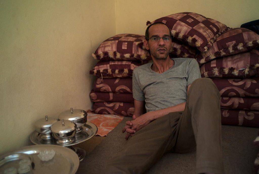 Abdati Ramdan estuvo detenido y desaparecido durante seis meses. Imagen por Eugenio G. Delgado.