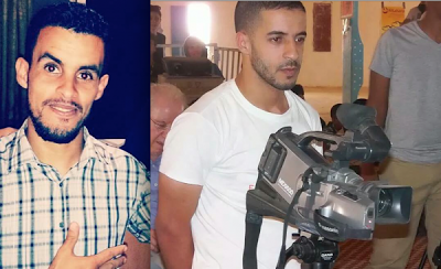 Los periodistas Said Amidan y Brahim Laajail