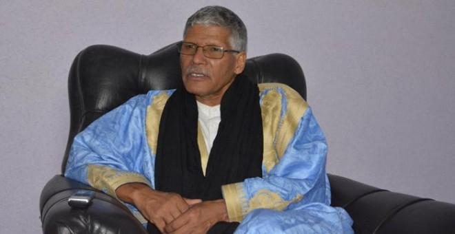 Primer ministro de la RASD, Abdelkader Taleb Omar.- VIRGINIA UZAL