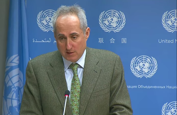 Stephan Djuric, portavoz del secretario general de la ONU