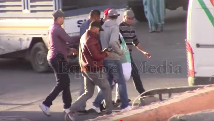 Leila Lili secuestrada en El Aaiún por agentes marroquíes