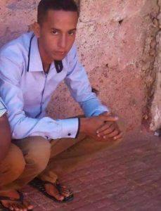 Mahmoud Haddi, estudiante saharaui