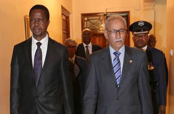 presidente ghali en zambia