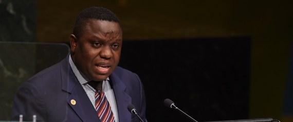 Ministro de Asuntos Exteriores de Zambia, Harry kalaba
