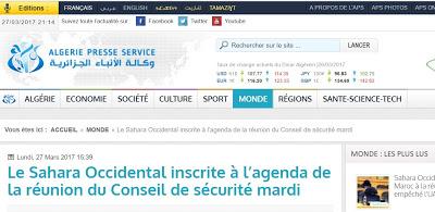 El Sahara Occidental en la agenda de la reunión del Consejo de Seguridad de la ONU el martes 28 de marzo