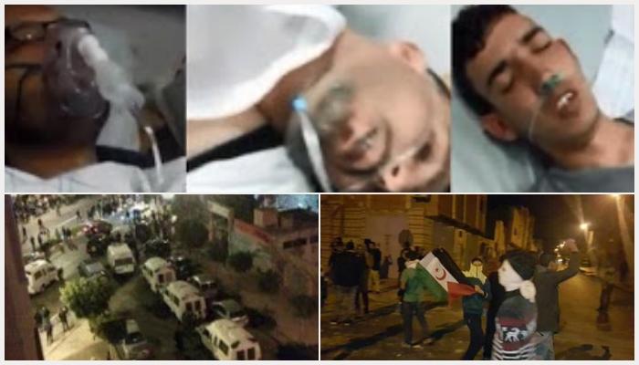 manifestaciones y heridos en el aaiun - Unidos Podemos, En Comú Podem, En Marea y Compromís