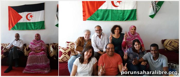 entrevista universidad oporto activistas saharauis