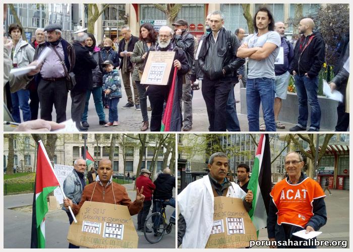 Manifestación Nancy Francia