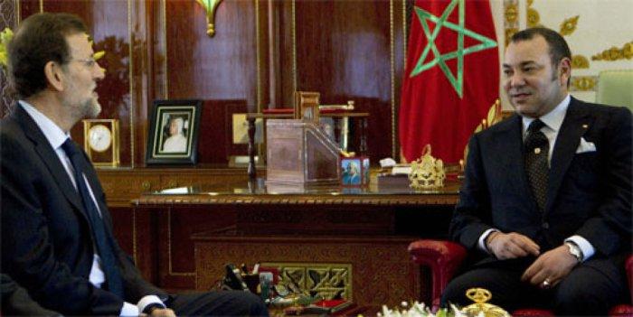 Rajoy y Mohamed VI